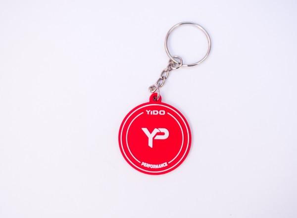Yido Performance Anhänger | Rund | Rot-Weiß