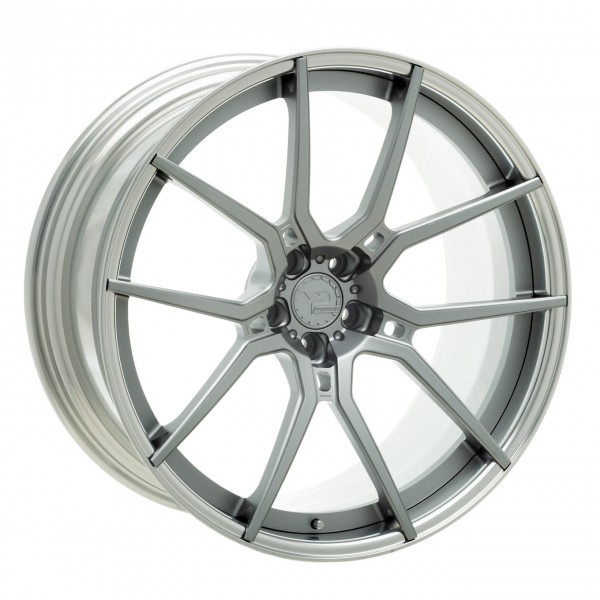 YP LT104.2 Forged | Matte Gunmetal/Polished Lip