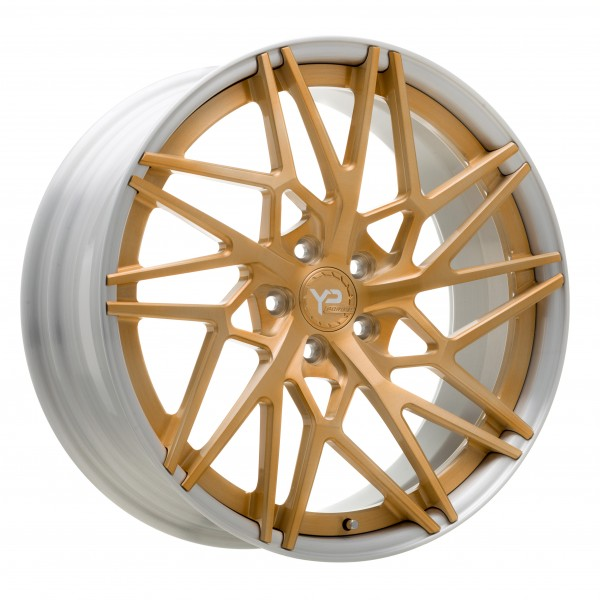 YP LT 10.2 Forged | Royal Gold/Brushed Lip