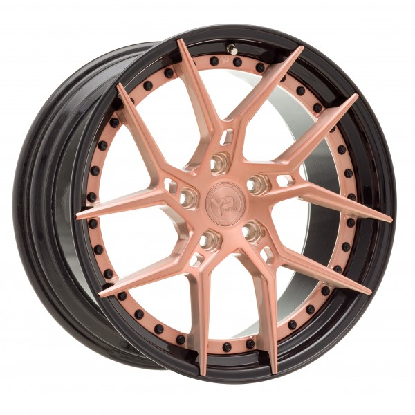 YP 6.2 Forged   Rose Gold/Gloss Black Lip