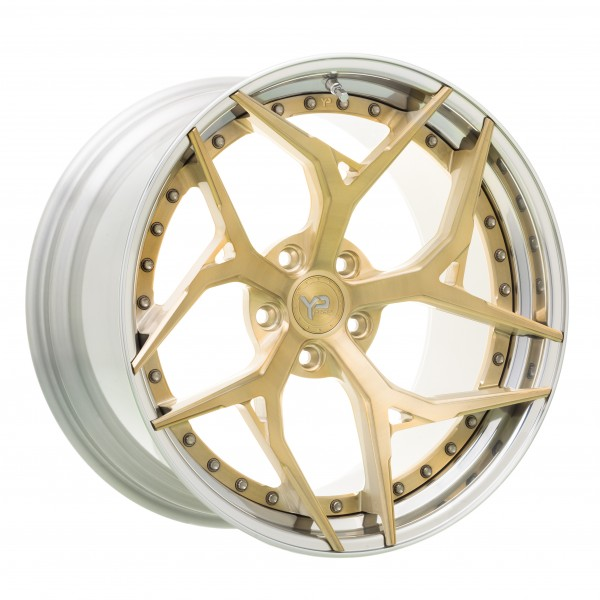 YP 7.2 Forged | Brushed Gold | Polished Lip