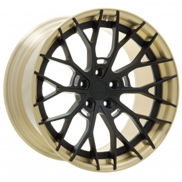 YP 8.2 Forged | Matte Black/Brushed Gold