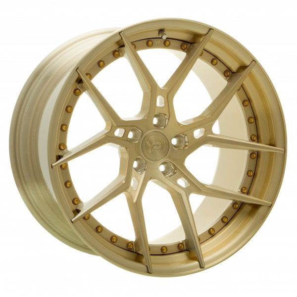 YP 6.2 Forged | Brushed Gold