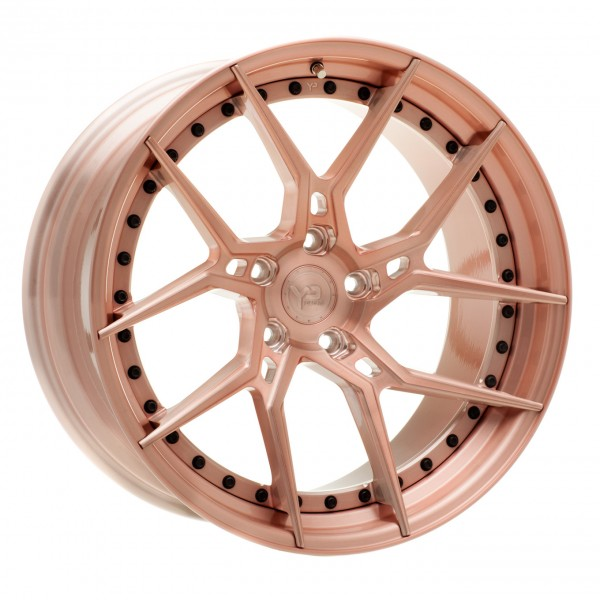 YP 6.2 Forged | Rose Gold/Black Hardware