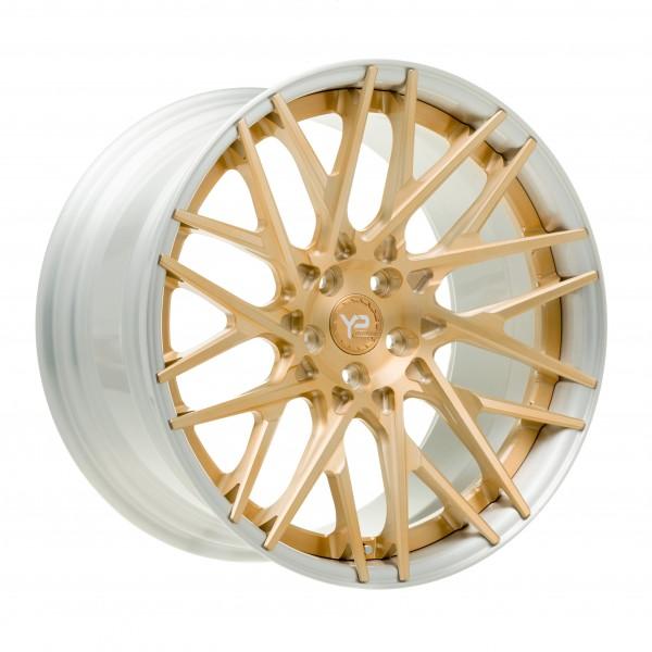YP LT 9.2 Forged | Brushed Gold | Brushed Lip