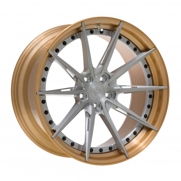 YP 13.2 Forged | Brushed Champagne Bronze/Brushed