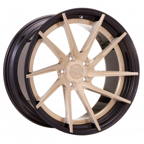 YP 3.2 Forged | Royal Gold/Gloss Black Lip