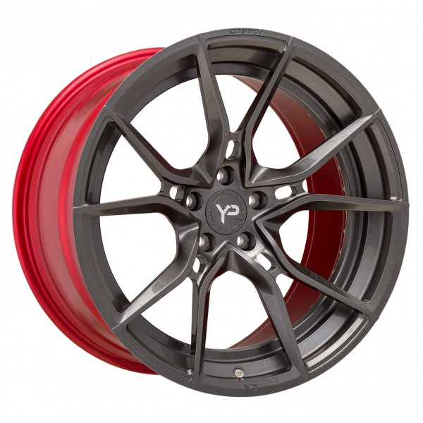 YP TE Series 1.2 Forged | Gunmetal | Gloss Red Barrel