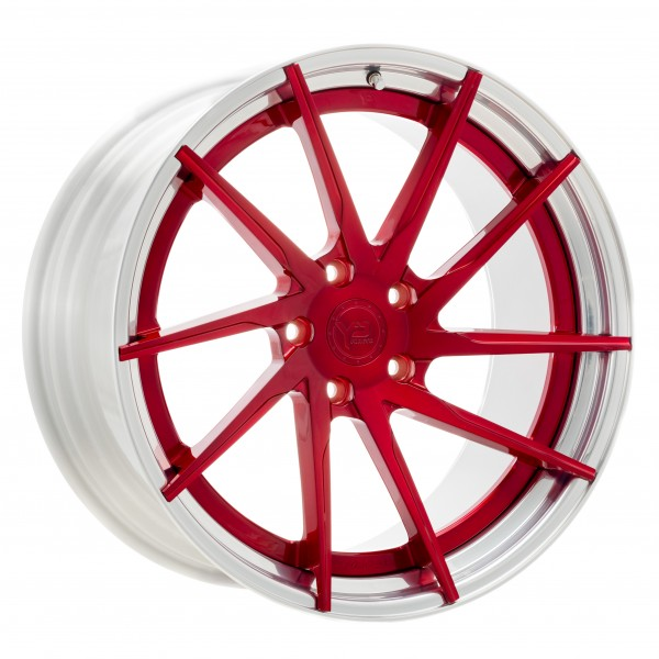 YP 3.2 Forged | Candy Red/Polished Lip