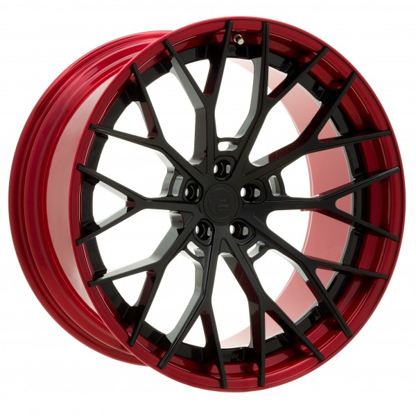 YP 8.2 Forged | Gloss Black/Candy Red Lip