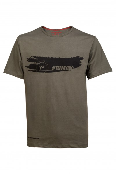 YP Lifestyle Shirt #TEAMYIDO -Khaki Grün-