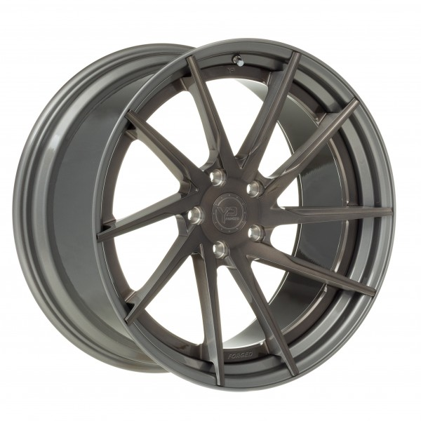 YP 3.2 Forged | Brushed Grey/Matte Gunmetal Lip