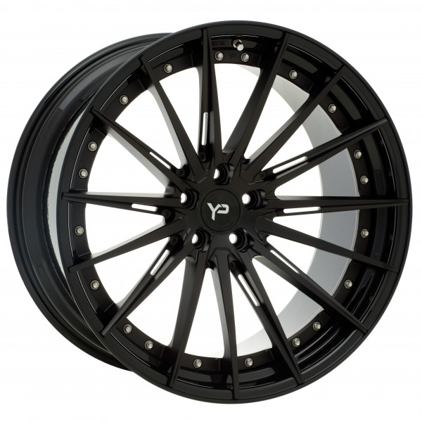 YP 9.2 Forged | Matte Black/Gloss Black Lip
