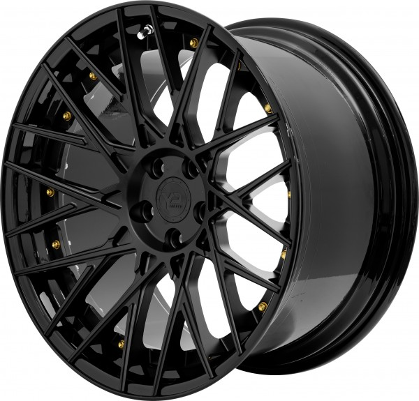 YP 11.2 Forged | Matte Black/Gloss Black Lip