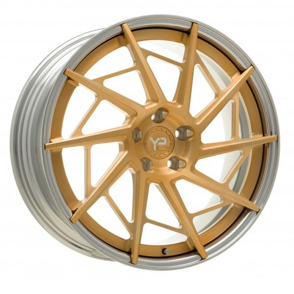 YP LT 9.2 Forged | Brushed Gold|Polished Lip
